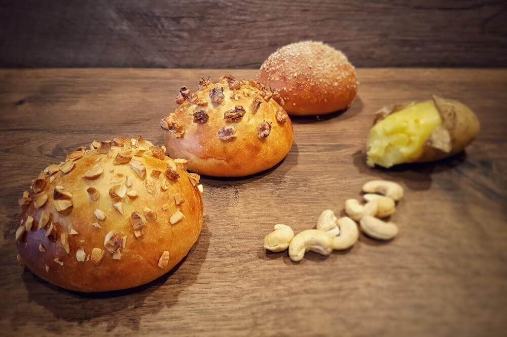 Kartoffel-Burger-Buns kartoffel-burger-buns-Kartoffel Burger Buns Broetchen 03-Kartoffel-Burger-Buns – softe Bürgerbrötchen mit Kartoffeln