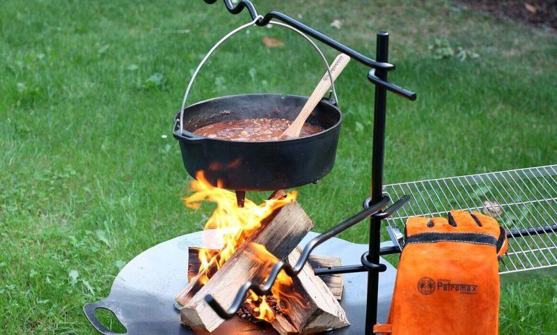 petromax feueranker-Petromax Feueranker fa1 800x481-Petromax Feueranker fa1 – Die multifunktionale Lagerfeuer-Kochstelle