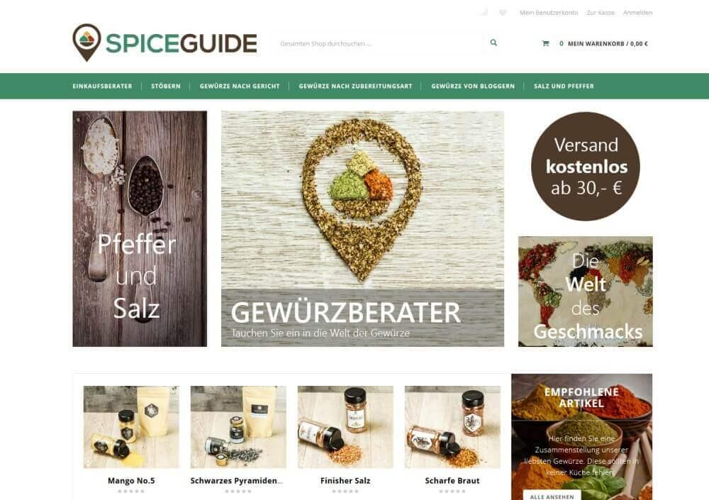 Spiceguide Gewürzberater Spiceguide.de – Gewürzberater und Onlineshop für Gewürze-spiceguide-Spiceguide Onlineshop Gewuerze01