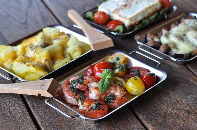 grillen mit grillpfännchen-Grillen mit Grillpf  nnchen 04 633x420-Grillen mit Grillpfännchen – Kleine Snacks und Raclette vom Grill