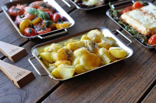 grillen mit grillpfännchen-Grillen mit Grillpf  nnchen 06 633x420-Grillen mit Grillpfännchen – Kleine Snacks und Raclette vom Grill