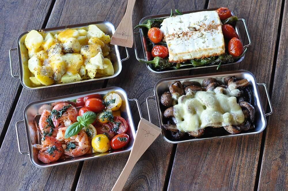 Grillfürst Grillpfännchen grillen mit grillpfännchen-Grillen mit Grillpf  nnchen 09-Grillen mit Grillpfännchen – Kleine Snacks und Raclette vom Grill
