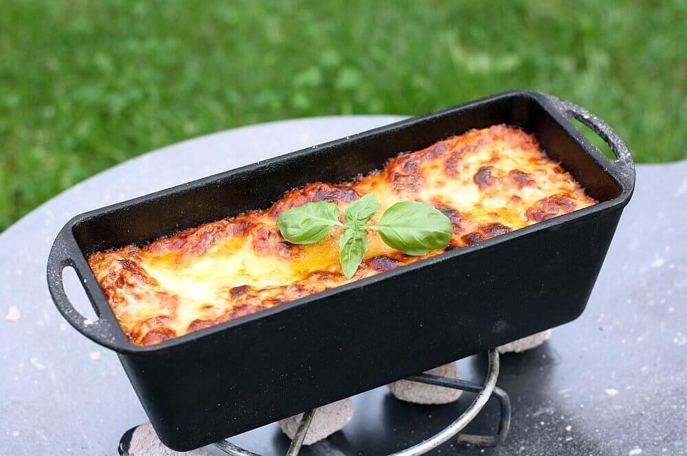 Lasagne aus der Petromax Kastenform lasagne-Lasagne Dutch Oven Kastenform 04-Lasagne aus dem Dutch Oven / Petromax Kastenform
