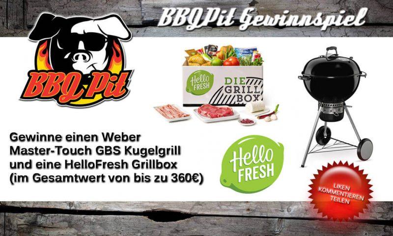 hellofresh-gewinnspiel-HelloFresh Gewinnspiel WeberKugelgrill BBQPit 800x481-HelloFresh-Gewinnspiel: Weber Kugelgrill & Grillbox zu gewinnen