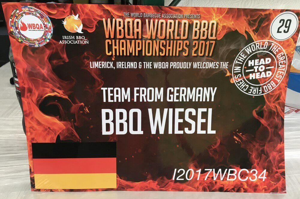 WBQA BBQ Wiesel grill-weltmeister-Grill Weltmeister 2017 BBQ Wiesel 08-Grill-Weltmeister 2017 mit den BBQ Wieseln