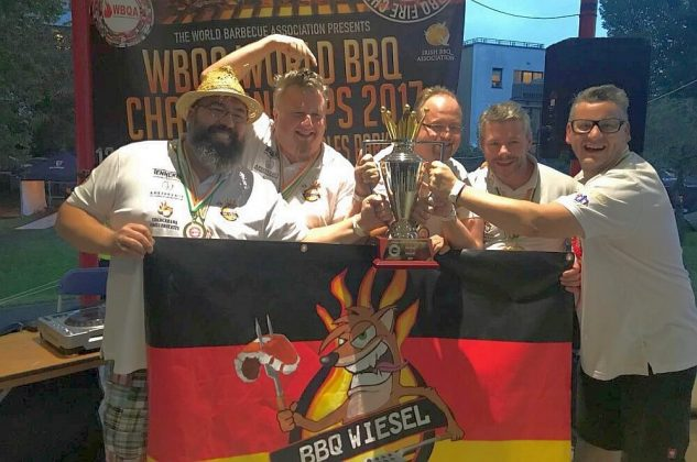 grill-weltmeister-Grill Weltmeister 2017 BBQ Wiesel 21 633x420-Grill-Weltmeister 2017 mit den BBQ Wieseln