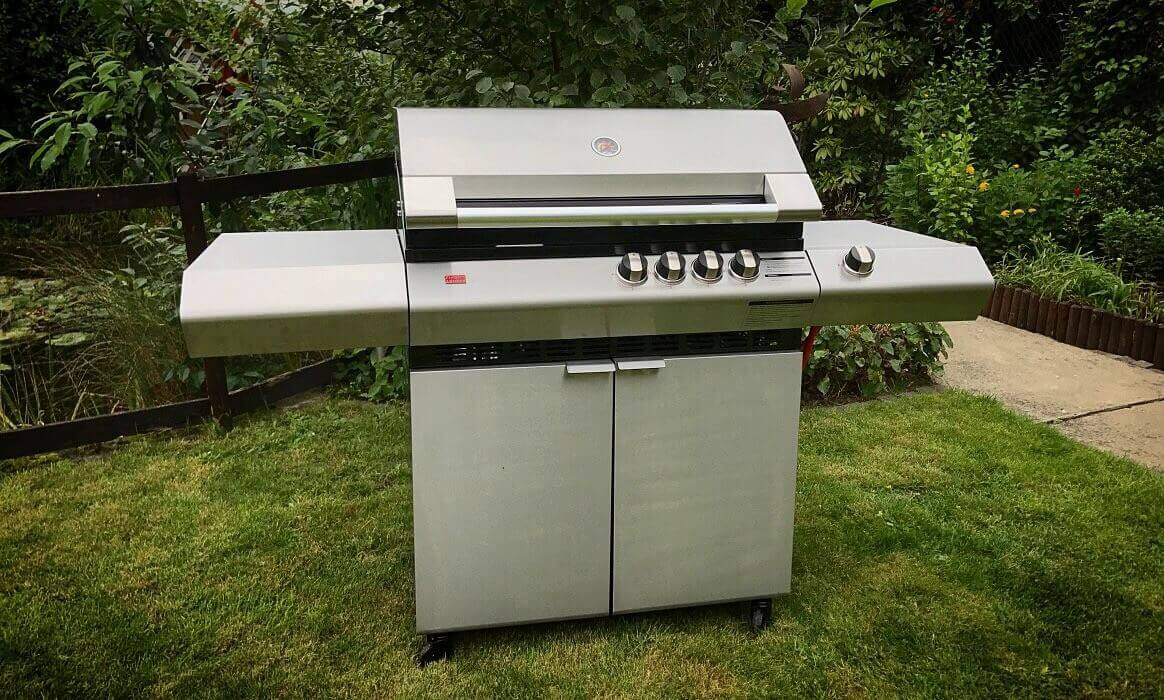 Ziegler U0026 Brown Turbo Elite 4B SB Gasgrill Im Test