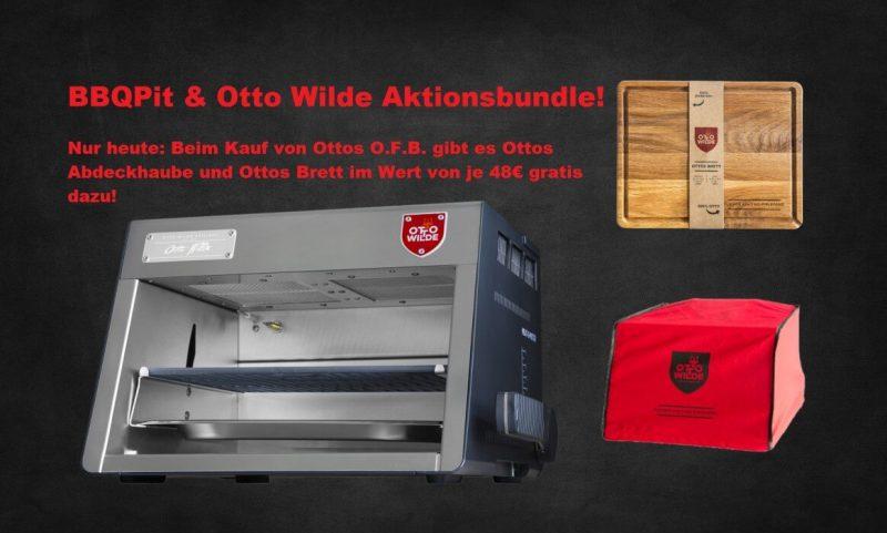 ofb-aktion-BBQPit OttoWilde Aktionsbundle 800x481-OFB-Aktion (nur heute!): Ottos O.F.B. kaufen und 96€ sparen! Gratis Abdeckhaube & Schneidebrett dazu