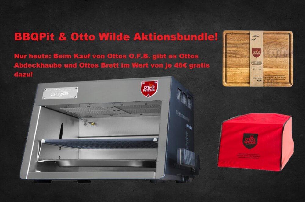 OFB-Aktion ofb-aktion-BBQPit OttoWilde Aktionsbundle01-OFB-Aktion (nur heute!): Ottos O.F.B. kaufen und 96€ sparen! Gratis Abdeckhaube & Schneidebrett dazu