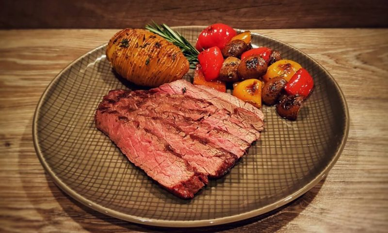 bavette steak-Flap Steak Bavette Flap Meat 800x481-Bavette Steak mit Grillgemüse und Hasselback Potatoes