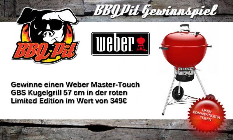 gewinne einen weber kugelgrill-Gewinnspiel Weber Master Touch GBS Red Limited Edition 800x481-Gewinne einen Weber Kugelgrill Master-Touch GBS Limited Edition Red im Wert von 349€