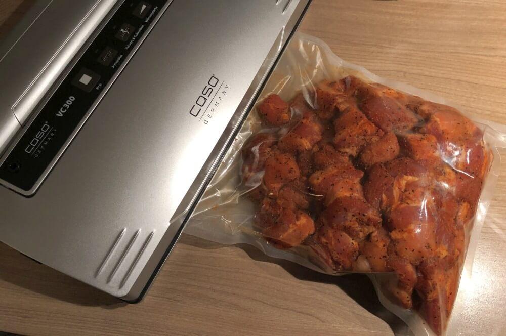 Caso VC 300 pork belly burnt ends-Pork Belly Burnt Ends Meat Candy 03-Pork Belly Burnt Ends – Meat Candy vom Schweinebauch