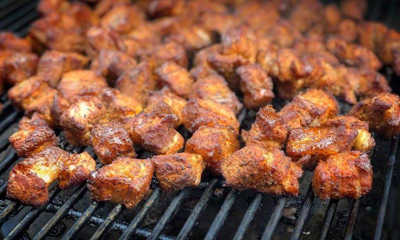 pork belly burnt ends-Pork Belly Burnt Ends Meat Candy 800x481-Pork Belly Burnt Ends – Meat Candy vom Schweinebauch