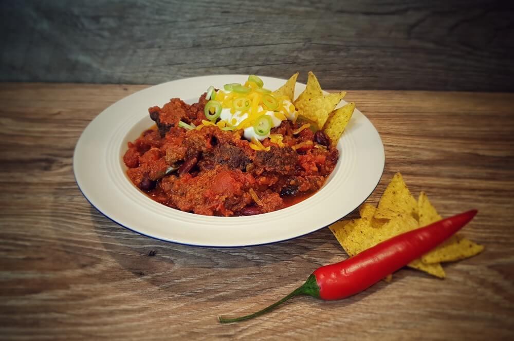 Over the top smoked chili im Kamado Joe over the top smoked chili-Over the top smoked chili 07-Over the top smoked Chili
