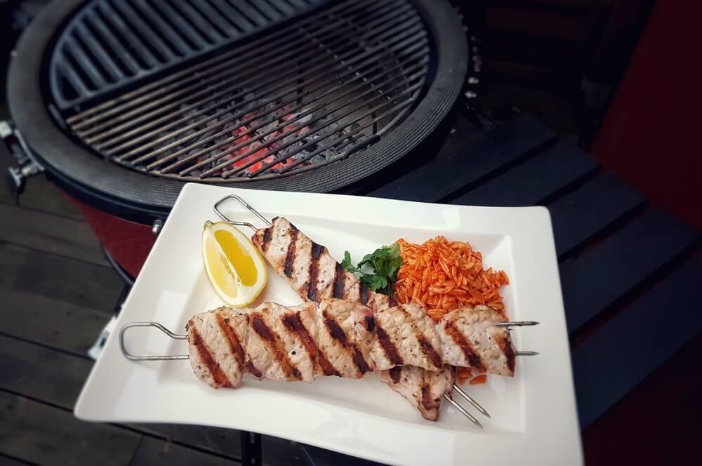 Souvlaki mit Kritharaki souvlaki-Souvlaki vom Grill 04-Souvlaki selber machen – Griechische Fleischspieße vom Grill