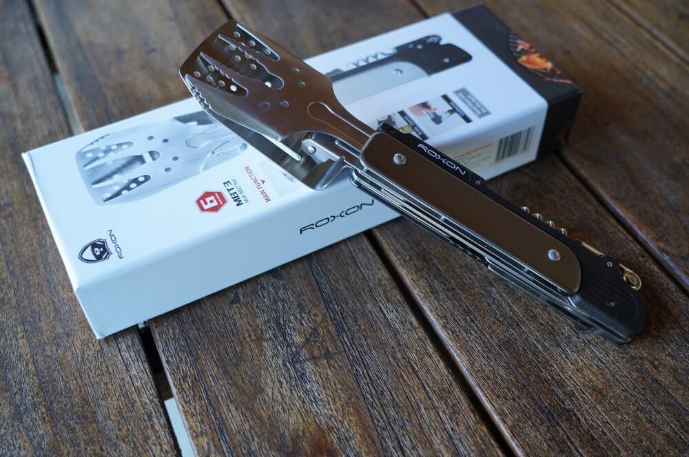 Das Roxon BBQ Multitool roxon bbq multitool-Roxon MBT3 BBQ Tool 01-Roxon BBQ Multitool – Das Schweizer Taschenmesser der Grillzangen
