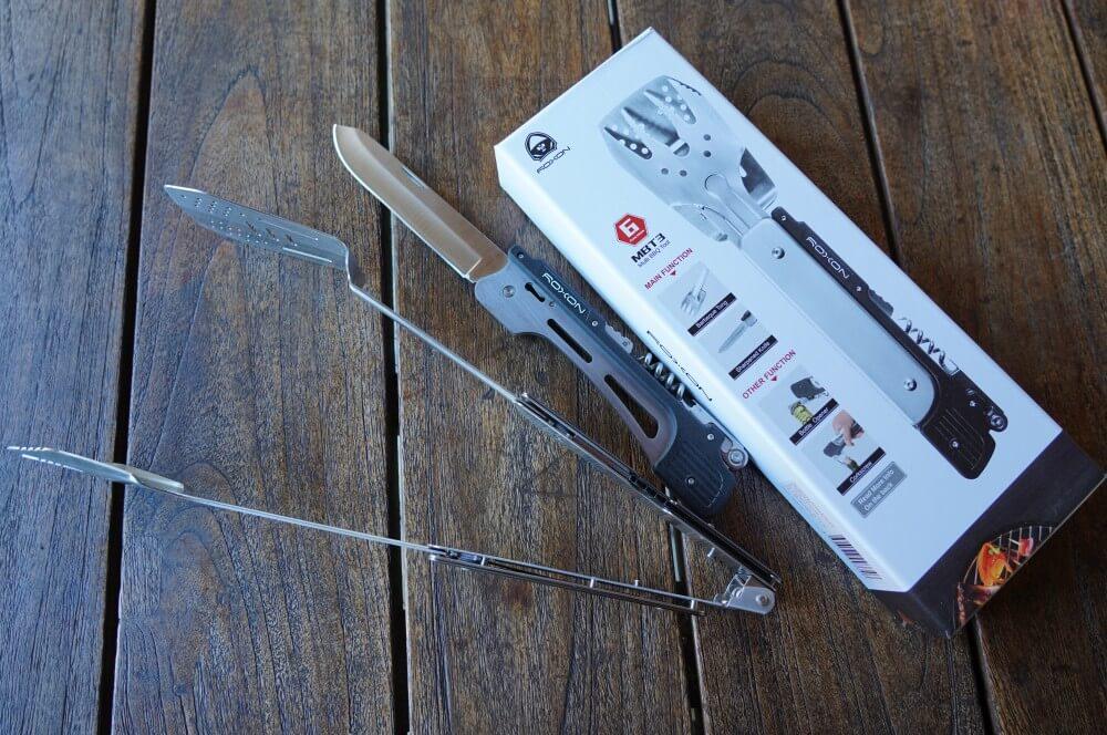 Das Multitool verfügt über 6 Funktionen roxon bbq multitool-Roxon MBT3 BBQ Tool 02-Roxon BBQ Multitool – Das Schweizer Taschenmesser der Grillzangen