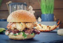 Langusten Surf & Turf Burger