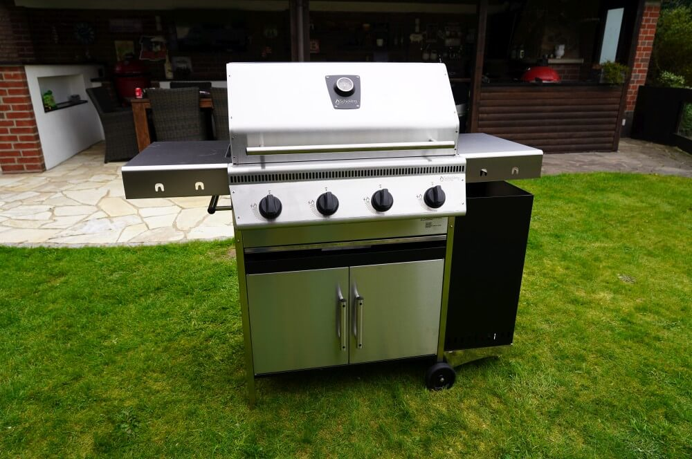 Schickling PremioGas XL II Edelstahl-Gasgrill schickling premiogas xl ii-Schickling Gasgrill PremioGas XLII Test 06-Schickling PremioGas XL II – Gasgrill Made in Germany